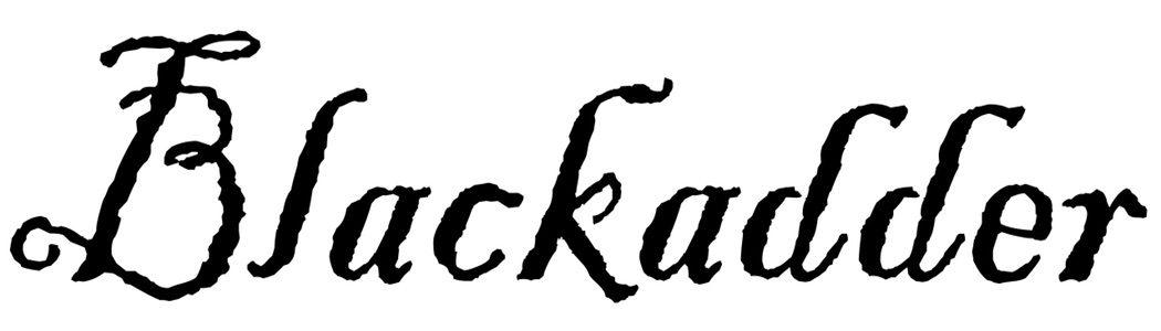 Blackadder_font